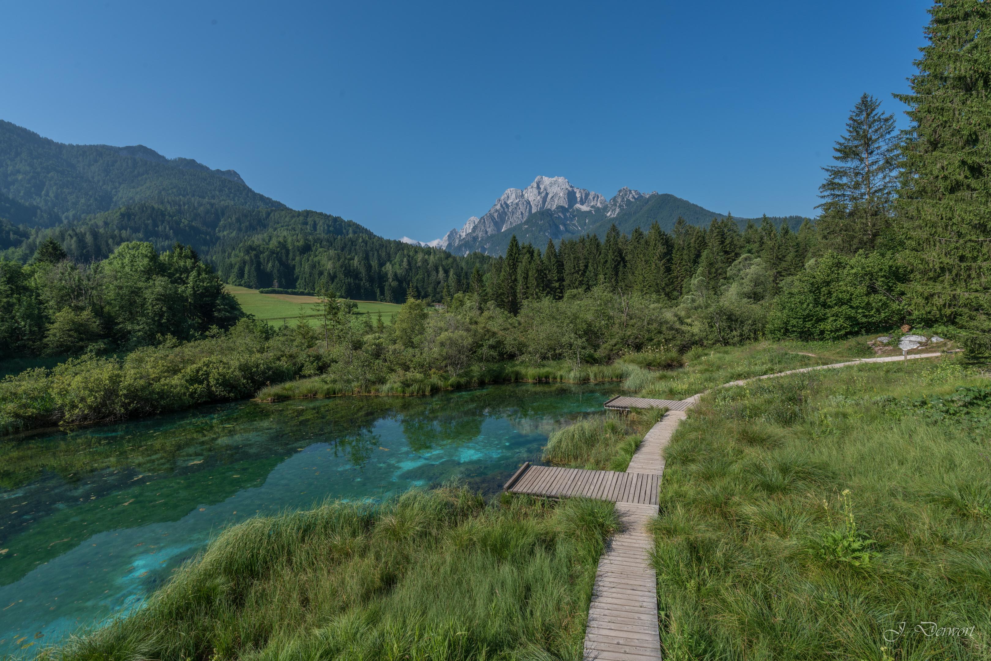 The Julian Alps in Slovenia
