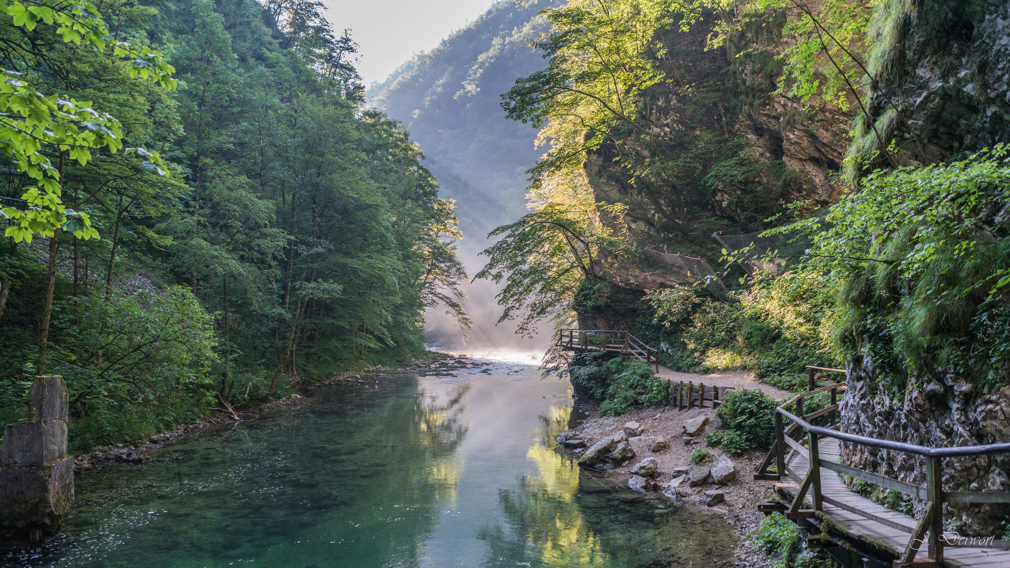 Gorges of Slovenia