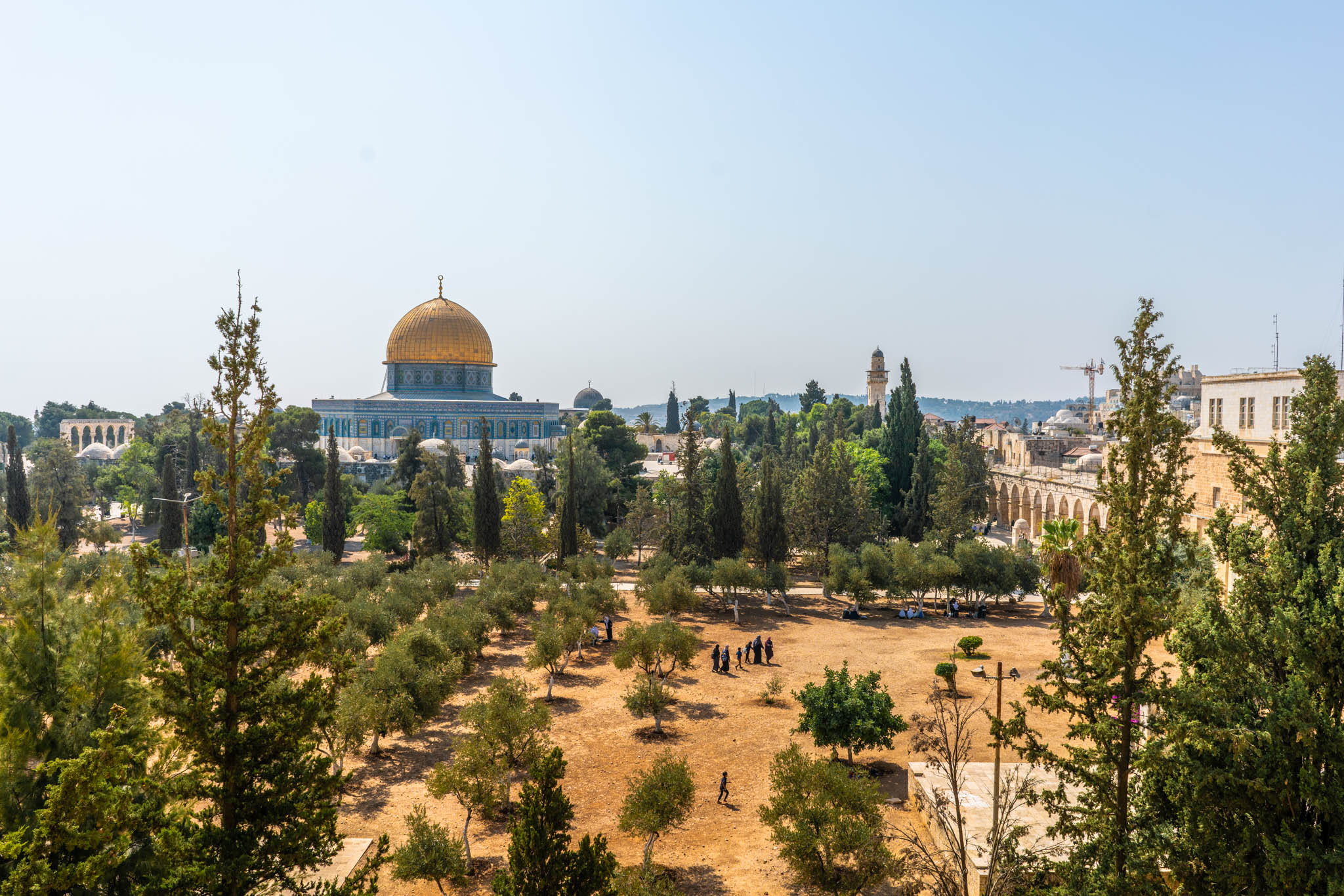 Tel Aviv and Jerusalem